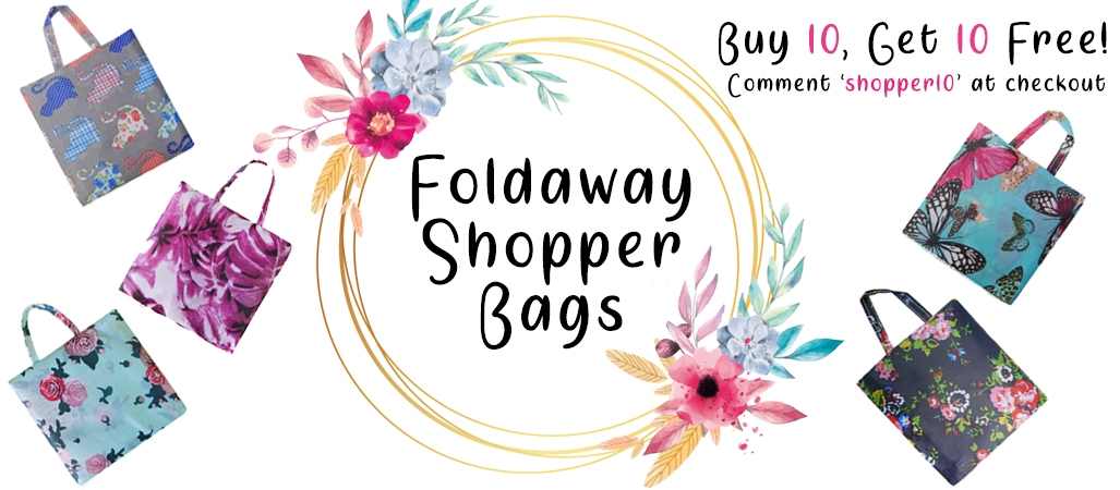 Fold Away Shopper Bags