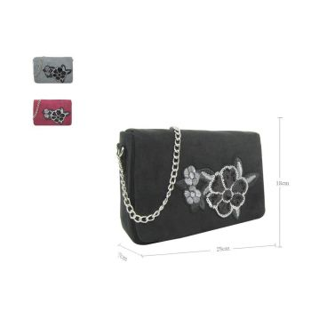 Emely Embroidery Cross Body Bag