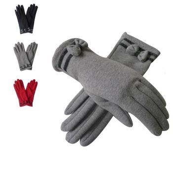 Bow and Frill Gloves