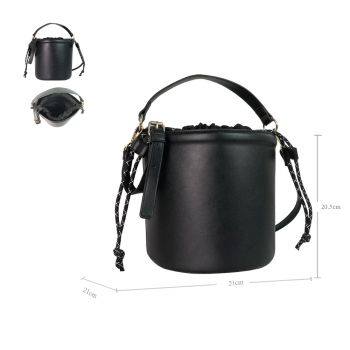 Gabrielle Bucket Bag With Interior Pouch and Drawstring Close