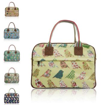 Birds And Flowers Day Bag