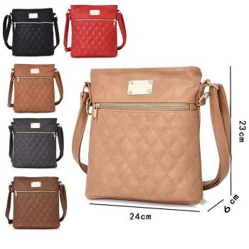 Maggie Quilted Cross Body Bag