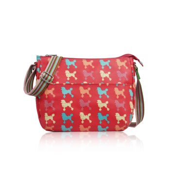 Poodle Multi-Purpose Cross Body - Fuchsia