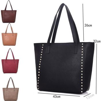 Vivien Studded Shopper Bag