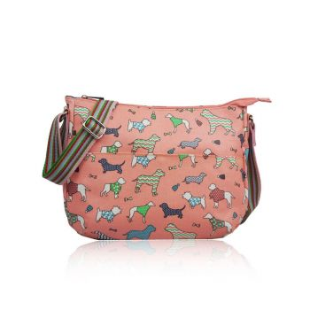 Dog Variety Multi-Purpose Cross Body - Dark Pink