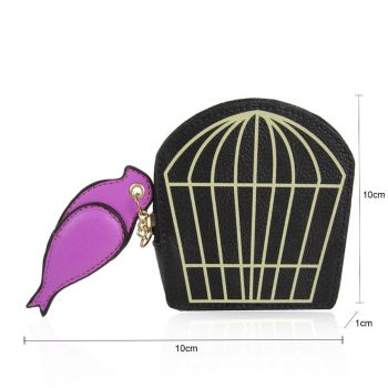 Birdcage Coin Purse