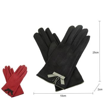 Suedette Gloves