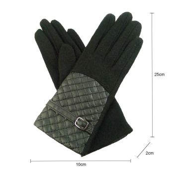 Quilted Panel Gloves