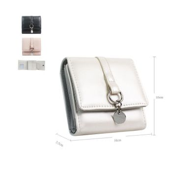 Esther Metal Ring Detail Small Purse