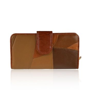 Leslie Real Leather Purse