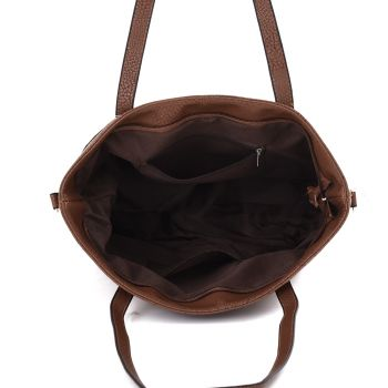 Arya Tote Bag - Red Brown
