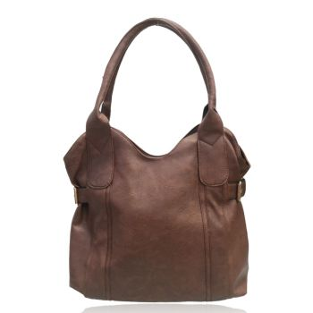 Lidia Tote Bag - Red Brown