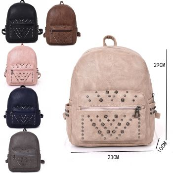 Carly Studded Backpack