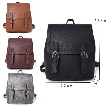 Maisie Twin Buckle Backpack