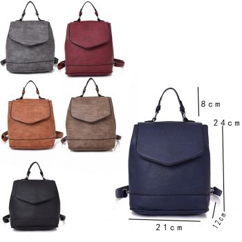 Cecilia Front Flap Backpack