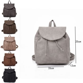 Foldover Tassel Backpack