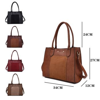 Louise Front Panel Shopper Bag