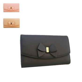 Lucy Bow Long Purse